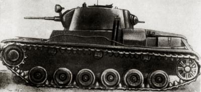 Танк Т-46-5 с проивоснарядным бронированием, 1938 год