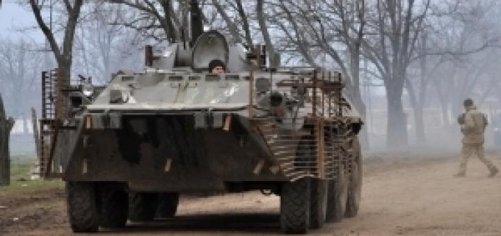 УКРОП атакует с БМП-2