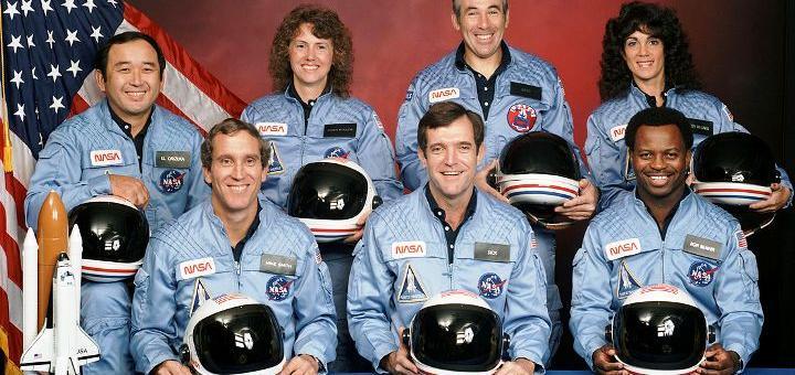 Погибшие астронавты Челленджера