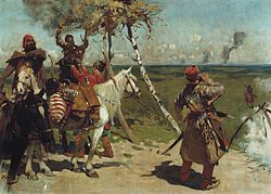 S._V._Ivanov._At_the_guarding_border_of_the_Moscow_state._(1907)