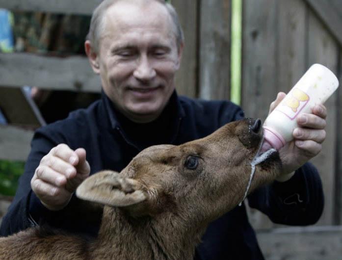 Путин и соска