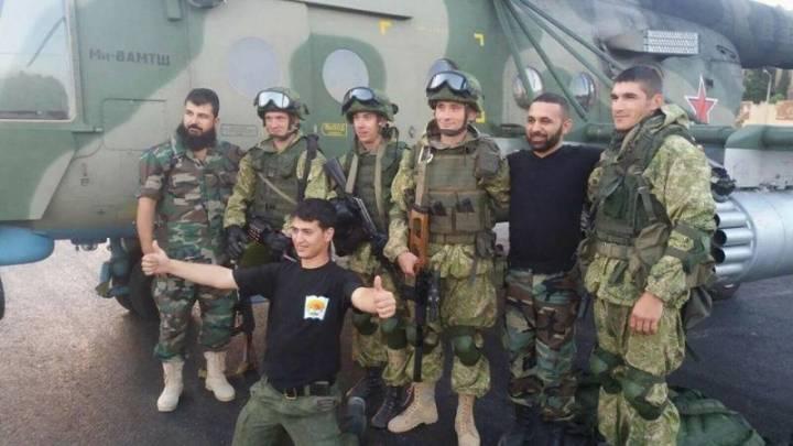фото русские в сирии