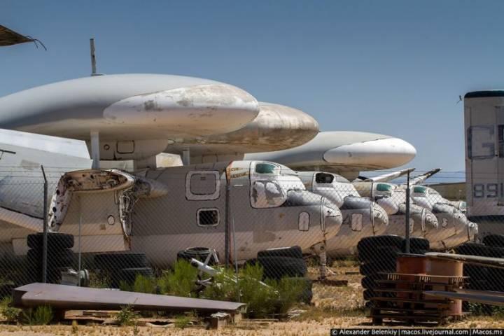 палубные самолеты ДРЛО Grumman E-1 Tracer