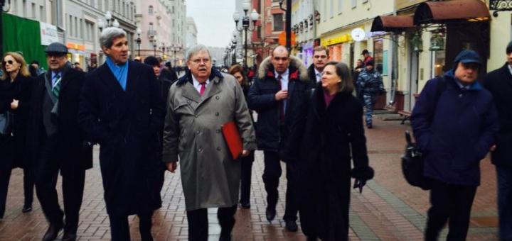 Американский десант высадился в Москве