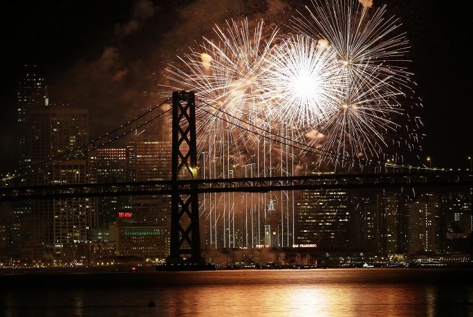 Сан-Франциско. США. 1 января 2016.