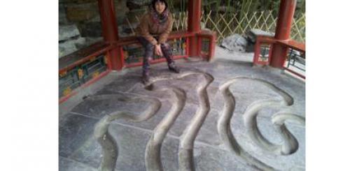 """Беседка для """"пира у изогнутой воды"""" в Пекине"""