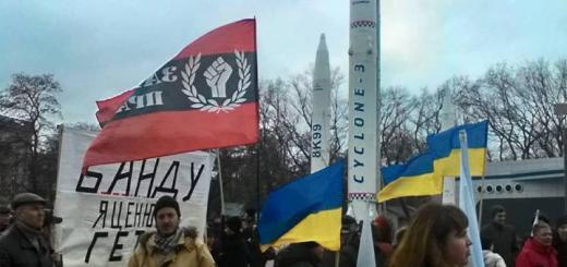 Хохлы и Космос, Украина