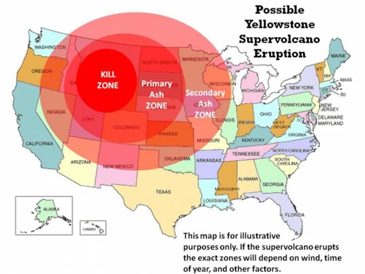 Чем грозит извержение Йеллоустоуна