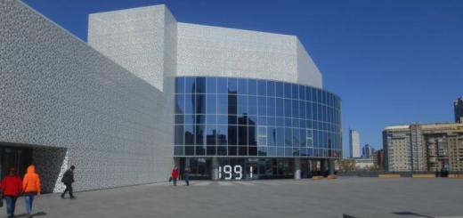 Кто бы что ни говорил, здание центра красивое