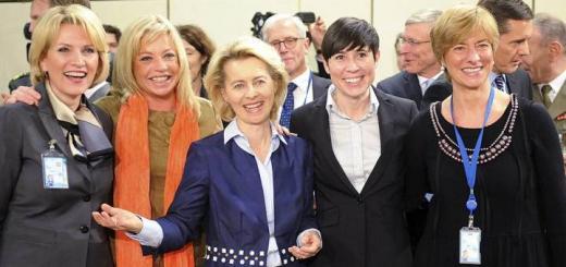 Министры обороны стран НАТО