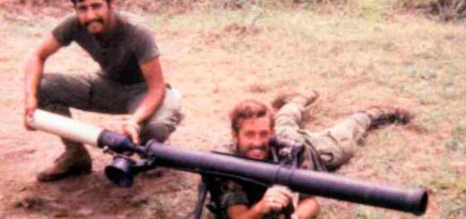 Динамо-реактивный противотанковый гранатомет M67