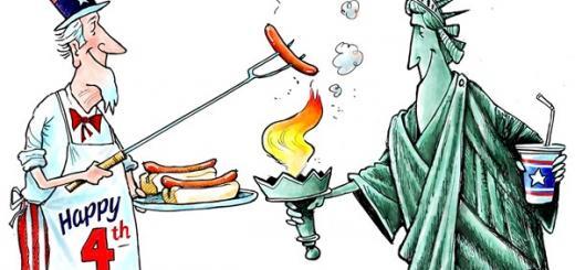 Пиндосы жарят США
