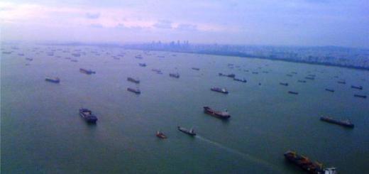 танкеры в Сингапуре