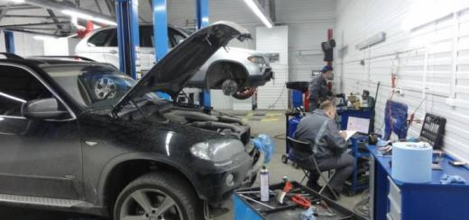 БМВ ремонт автомобиля