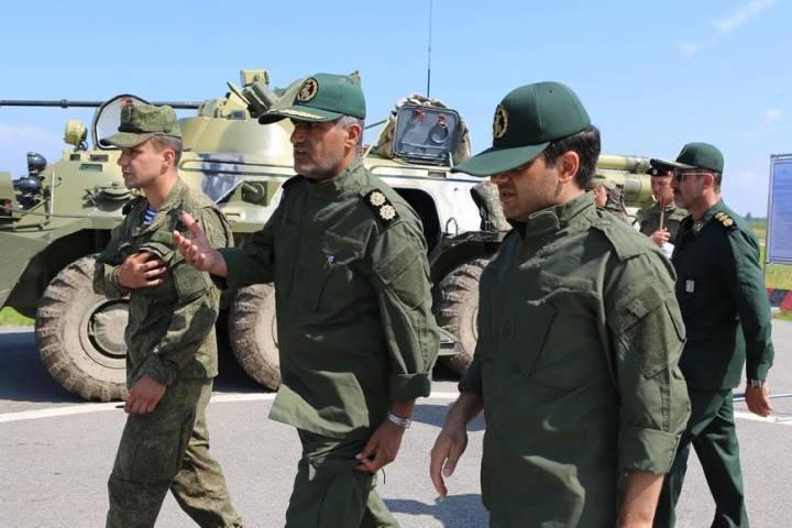 """Иранские морские пехотинцы на """"Морском десанте-2016"""""""