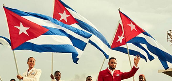 На лабутенах ах, с Фиделем Кастро на штанах
