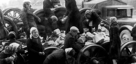 Ленинградцы на строительстве баррикады у Кировского завода. 24 сентября 1941 г.