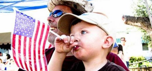 Как заботятся о детях в США