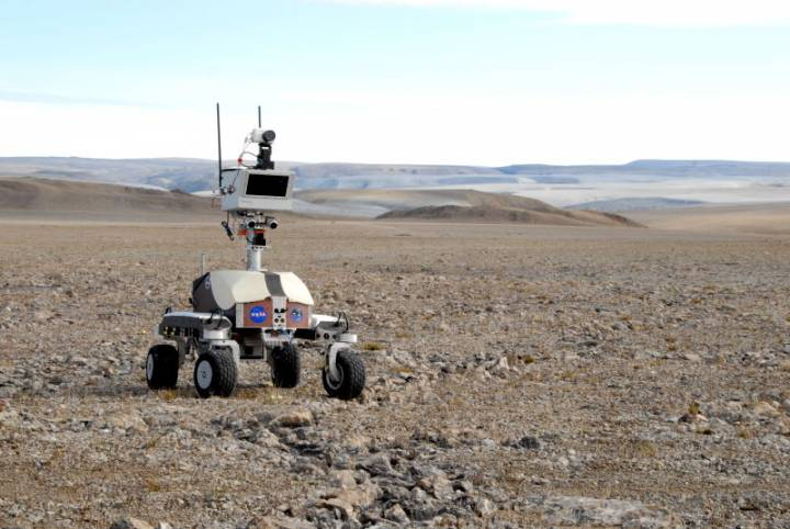 Где ползают марсоходы НАСА