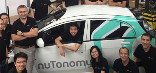 В Сингапуре запустили шесть такси-беспилотников