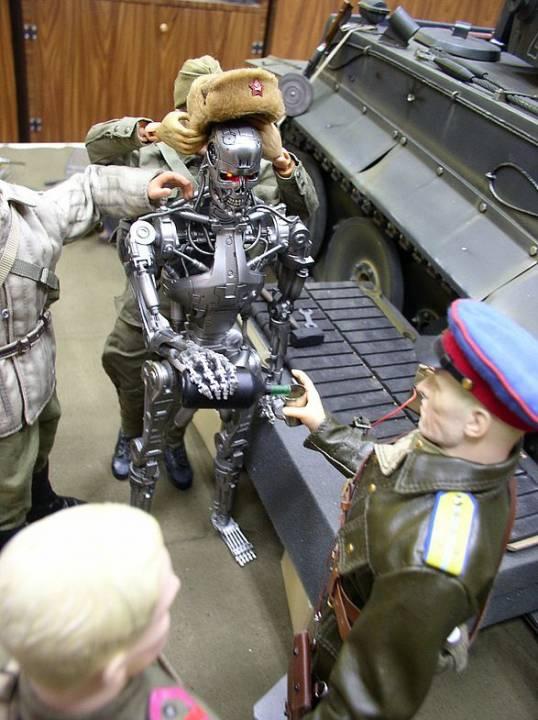 Боевые роботы Сталина