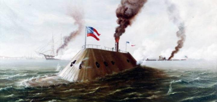CSS Virginia, 1862 год