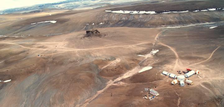 Марсианская станция